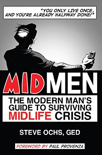 MIDMEN: The Modern Man's Guide to Surviving Midlife Crisis Book Cover