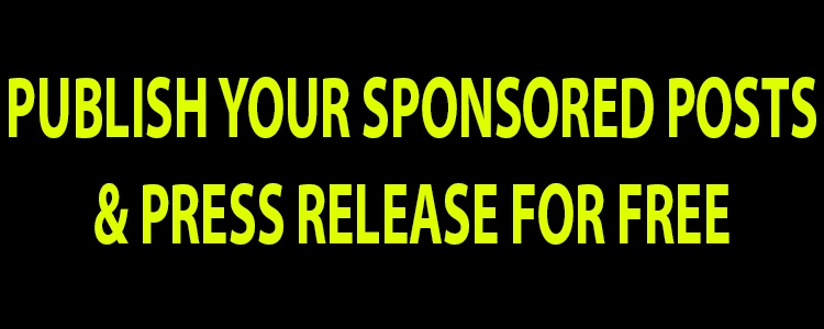 Free Press Release and Sponsored post publishing