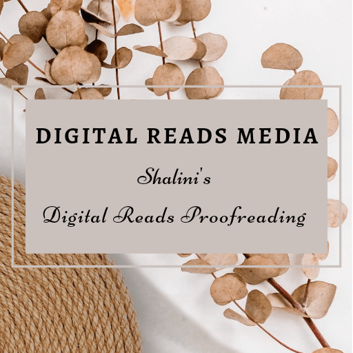 Digital Reads Proofreading