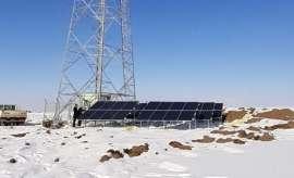 Türk Telekom güneş enerjili baz istasyonu