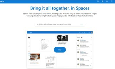 Microsoft'tan kurumsal üretkenlik hamlesi: Outlook Spaces