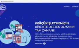 """Metro Türkiye """"Küçük İşletmem İçin"""" hareketini başlattı"""