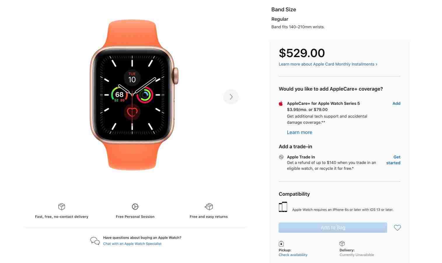 Apple Watch 5 tükendi: Apple, Watch 6 için eylülde tanıtım etkinliği düzenleyebilir
