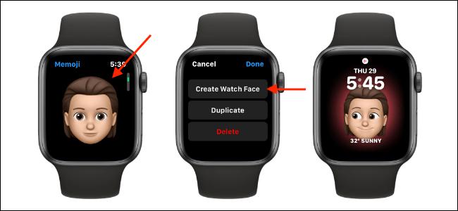 Apple Watch'ta Memoji yapma [Nasıl Yapılır]