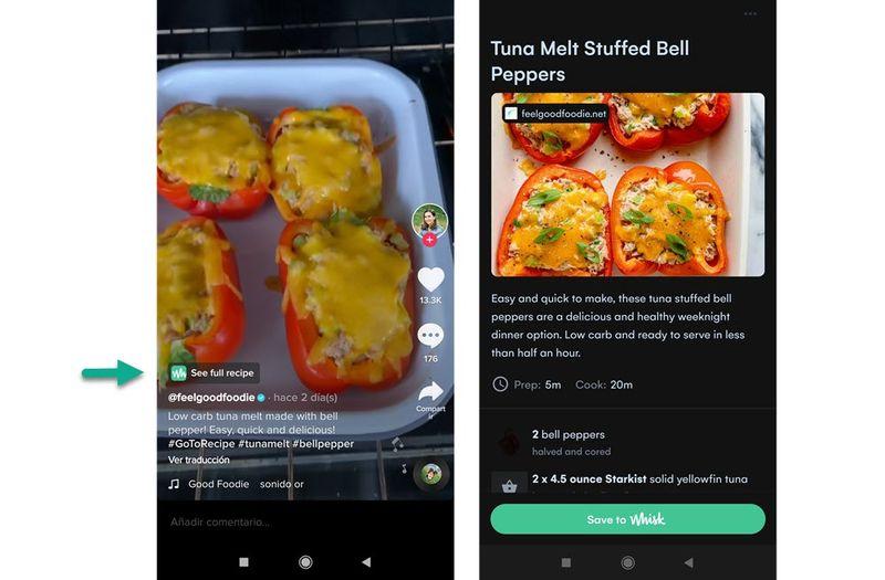 TikTok, tarif videoları için yeni bir özelliği test ediyor