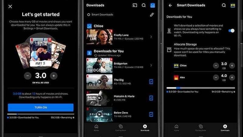 Netflix, yeni 'Sizin için İndirmeler' özelliğini başlatıyor