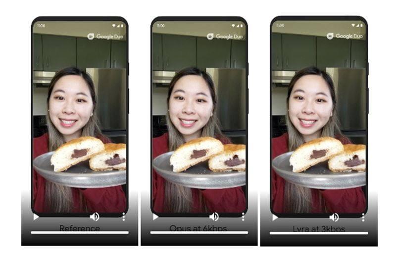 Google Duo yeni ses codec'i ile yavaş bağlantılarda arama kalitesi iyileşiyor