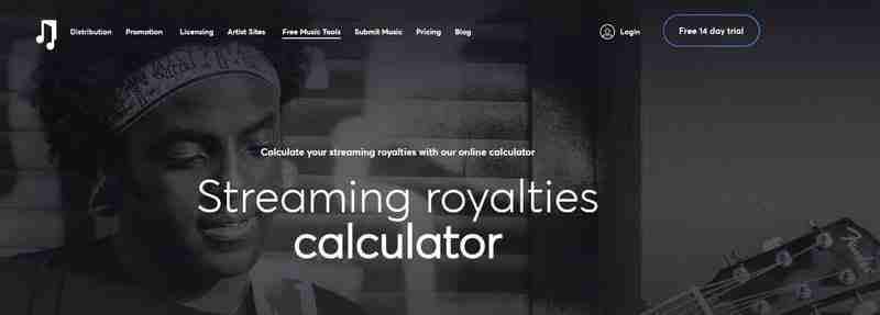 Bu web sitesi size herhangi bir sanatçının Spotify, Youtube ve diğerlerinde ne kadar kazandığını söyler.