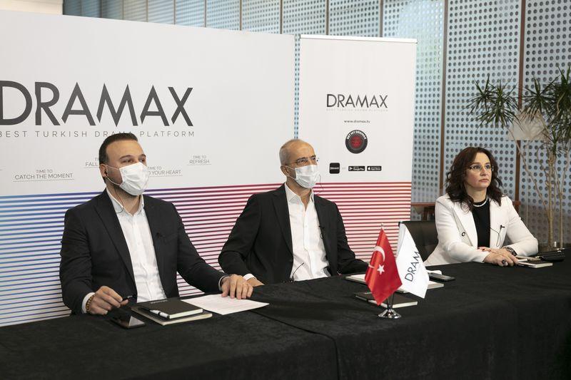 Dramax dönemi başlıyor ve Türk yapımları dünyaya bağlanıyor