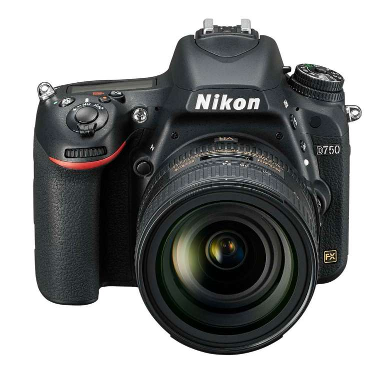 The Nikon D750 offers a resolution of 24.3MP and has a top burst rate of 6.5fps