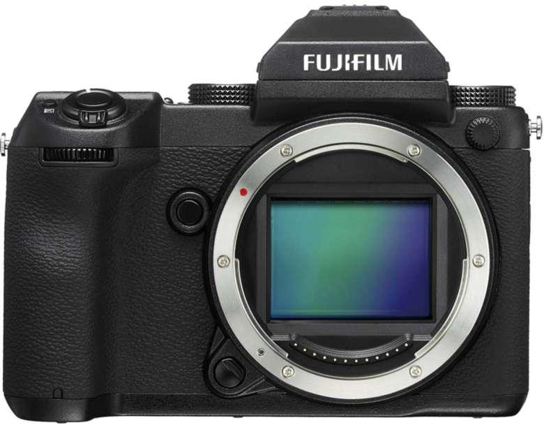 Fujifilm's GFX 50S offers 3fps burst shooting