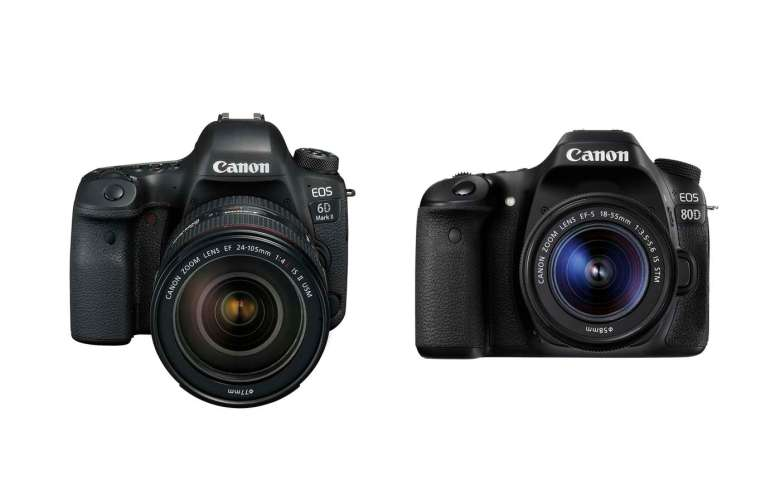 Both cameras can film Full HD footage, but only the 80D has a port for headphones!