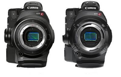 monturas Canon EOS C300
