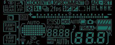 Nikon-D600-LCD-screen
