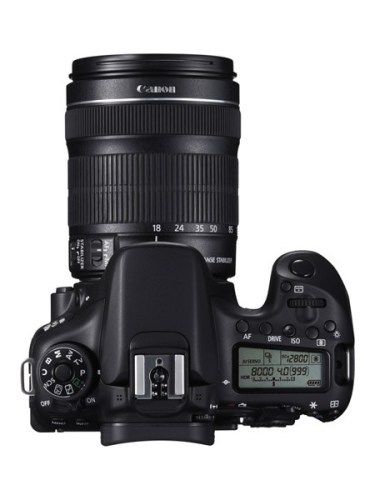 CANON EOS 70D TOP w EF-S 18-135mm IS STM
