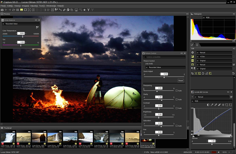 Resultado de imagen para Nikon Capture NX-D