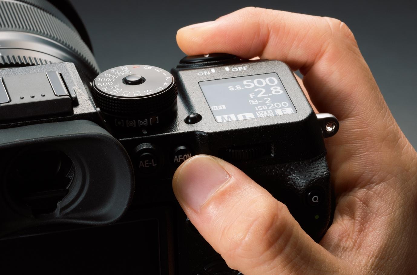 Pantalla superior Fujifilm X-H1