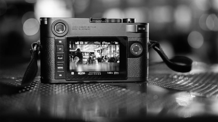 Parte trasera de Leica M10 Monochrom
