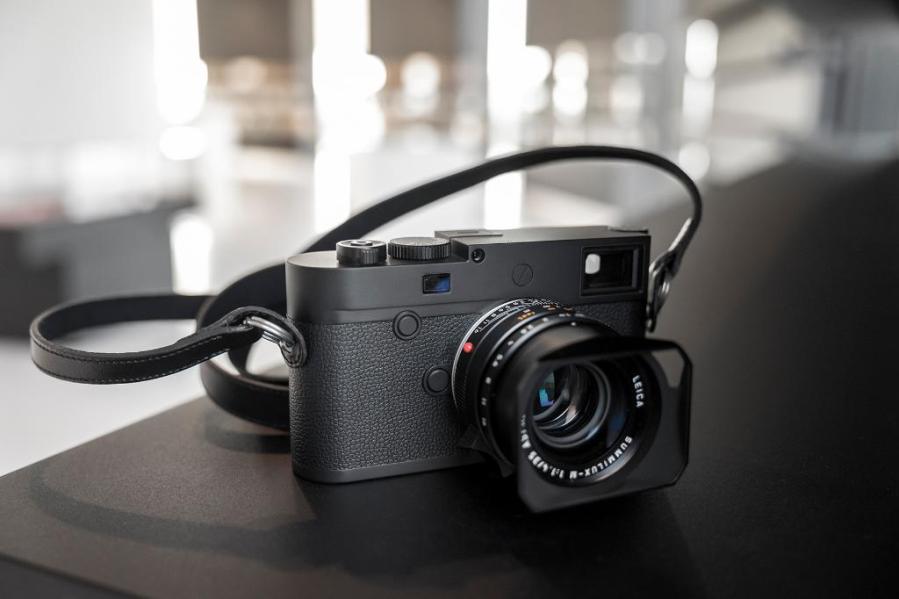 Vista de Leica M10 Monochrom