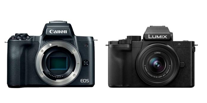 Panasonic G100 vs Canon EOS M50