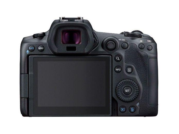 Canon EOS R5 parte trasera