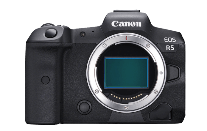 Cámara Canon EOS R5