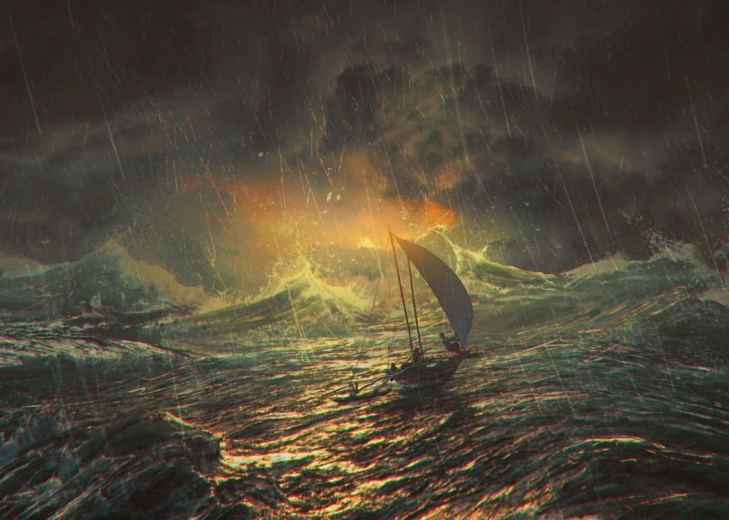 A Flame In The Hurricane