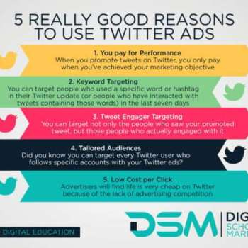 DSM Digital school of marketing - twitter to engage