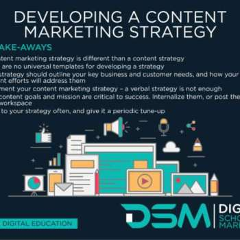 DSM Digital school of marketing - social media content