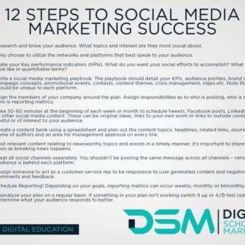 DSM Digital school of marketing - social proof
