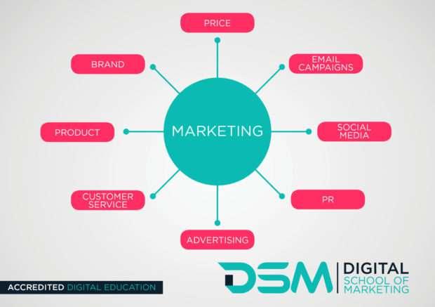 DSM Digital school of marketing - guide to digital marketing