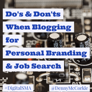 blogging do's and don'ts