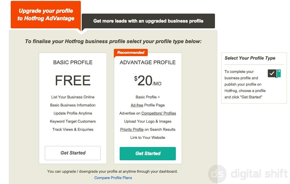 How to add your business to HotFrog.ca5
