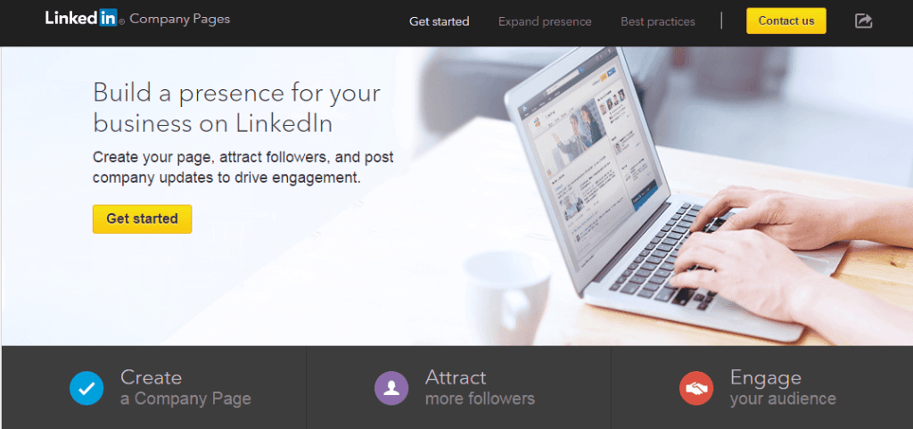 LinkedIn-company-page-setup-01-sign-up-page