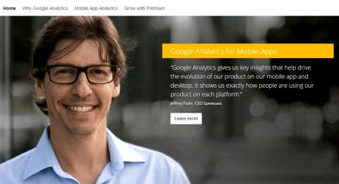 Setup Google Analytics Account for Website