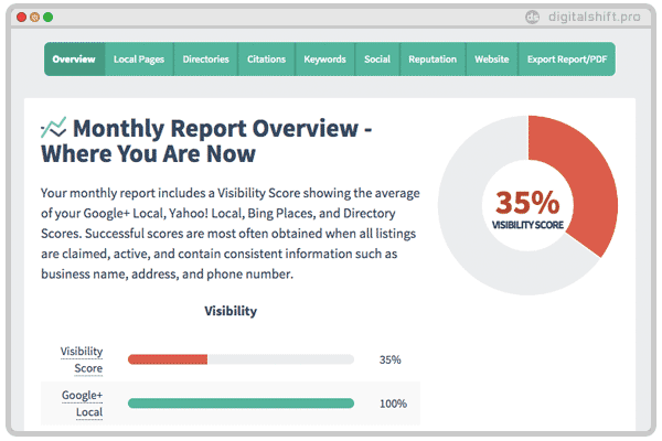 digital shift local seo audit