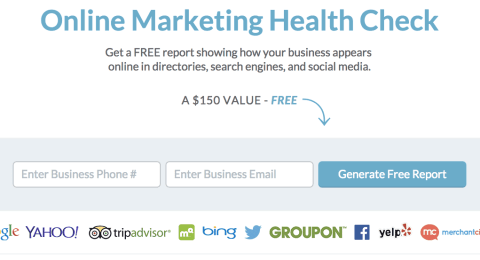 Free Online Marketing Health Check
