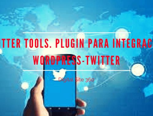 Twitter Tools. Plugin para integración WordPress-Twitter