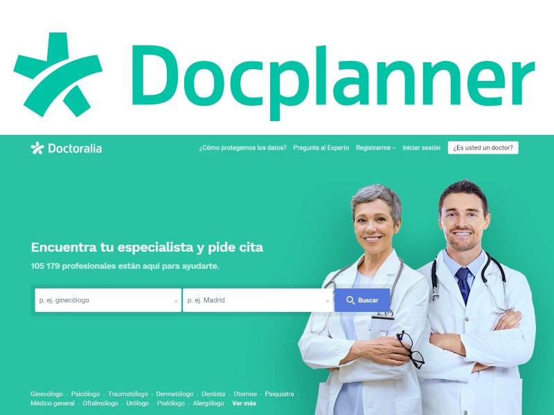 Docplanner de Doctoralia. Gestión de agenda de visitas