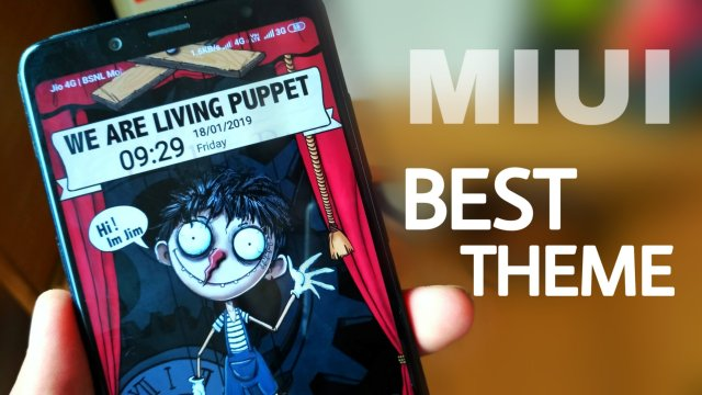 Best Theme for MIUI 10 - The puppet - Digital Sphere