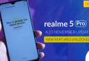 Realme 5 Pro: New OTA Update A.13- November 2019