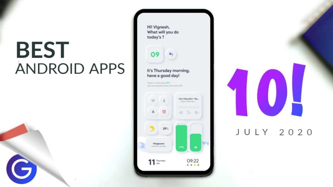Top 10 Best Apps for Android In July 2020