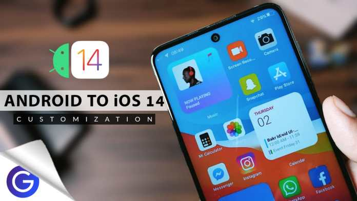 ios 14 on android