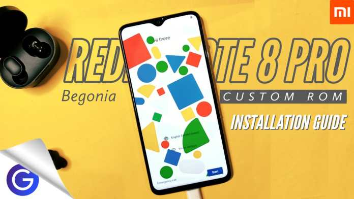 install custom rom in redmi note 8 pro
