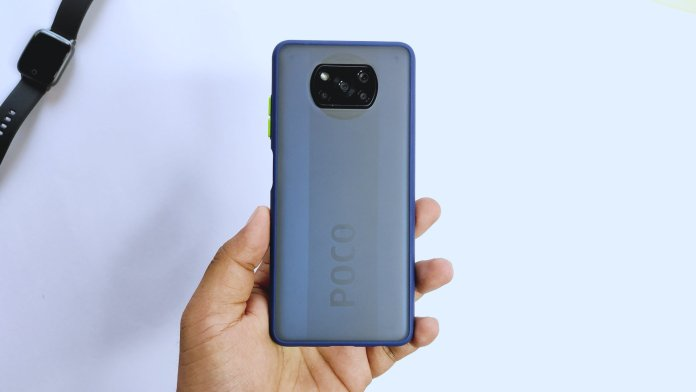 Smoke case for poco x3