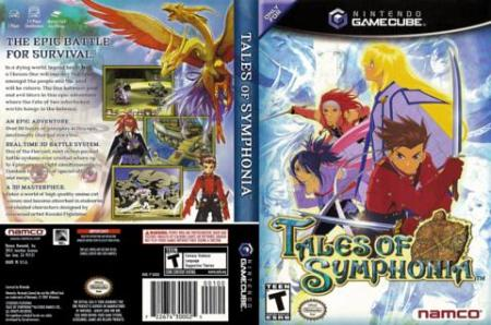 Tales of Symphonia  and sequel getting PS3 remake Tales of Symphonia   GameCube box art