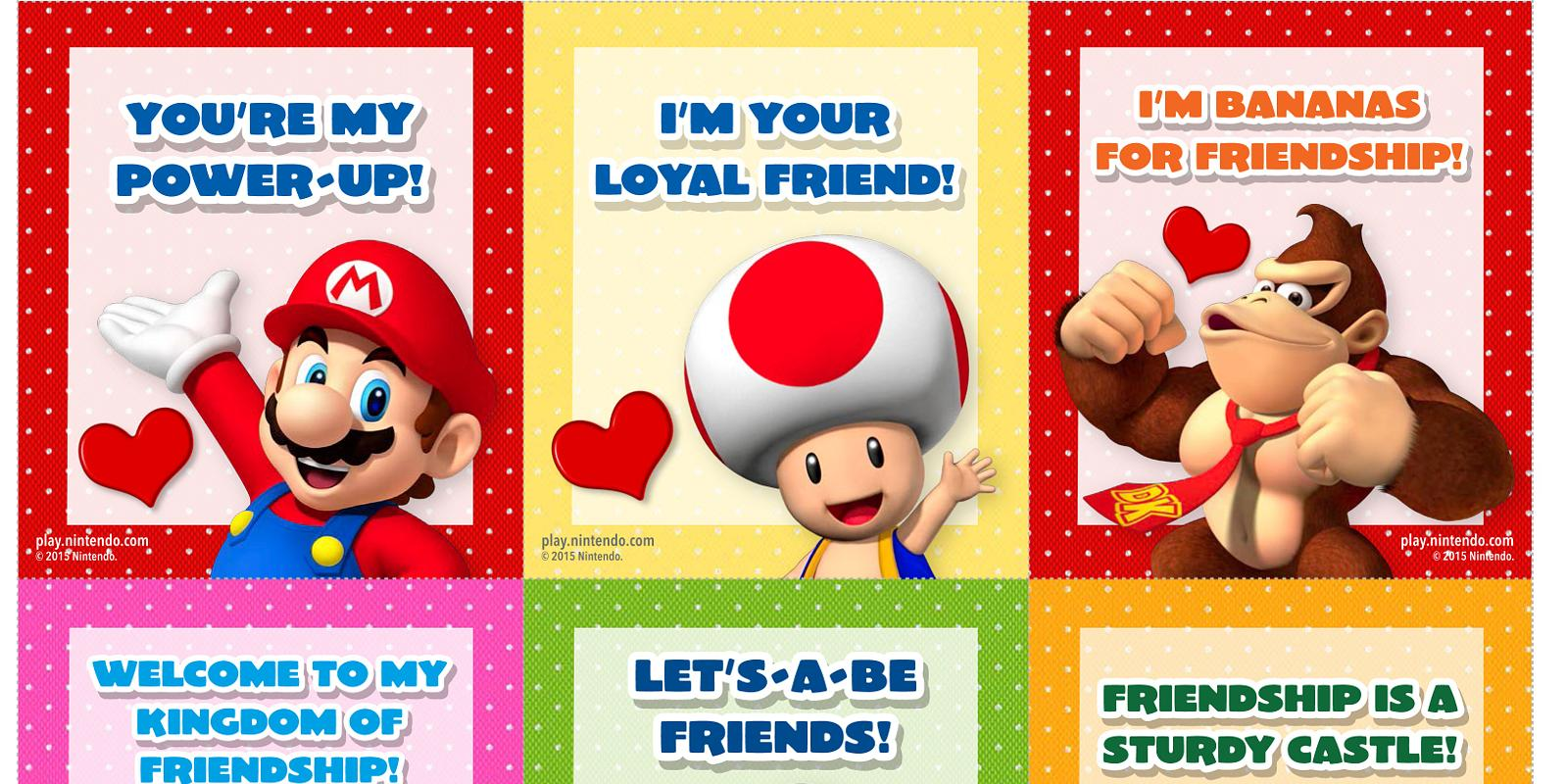 Youre My Power Up Nintendo Launch Gaming Valentines