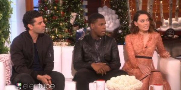 The cast of Star Wars on The Ellen Show