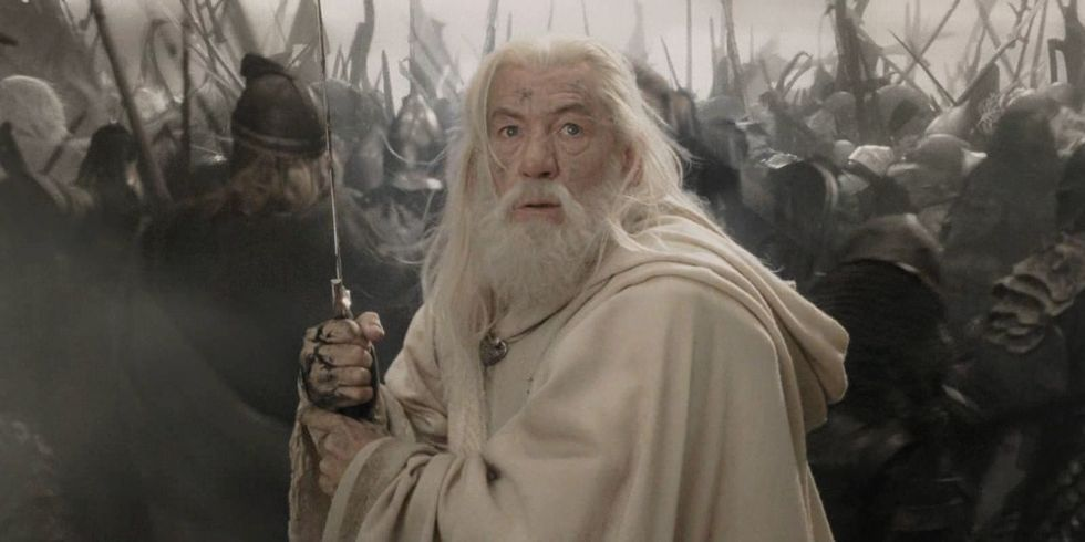 Image result for Sir Ian McKellen gandalf