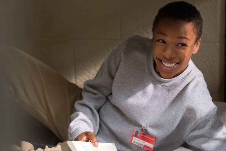 Samira Wiley as Poussey Washington in Orange is the New Black season 4